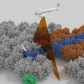 Multiscale mapping - aircraft (not to scale)